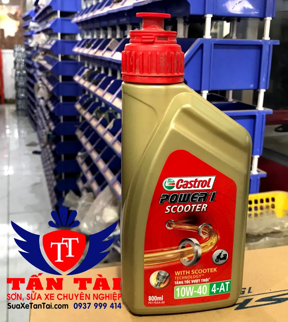 Nhớt Castrol Power 1 Scooter 0.8L